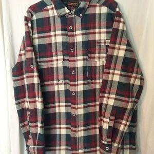 Other - Men's Boulder Creek L/Tall Flannel Button up Shirt